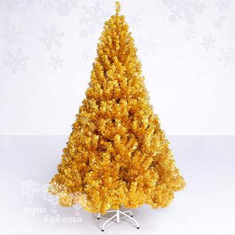Искусственная ель золотая 1,5 метра